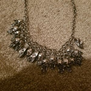 Accessories - Fashion Jewelry Skull Necklace